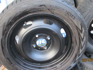 ROUES COMPLETES 206, 307,C3  hiver  195X55X15