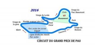 Meeting Clio CUP Grand Prix de PAU 14 & 15 Mai 2016