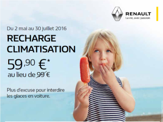 PROMO RECHARGE CLIMATISATION A 59.90 €
