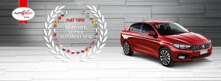 Fiat Tipo, élue ''meilleure voiture'' de l'année 2016 en Europe