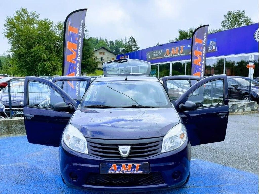 Dacia Sandero 1.4 MPI 75cv Essence et GPL