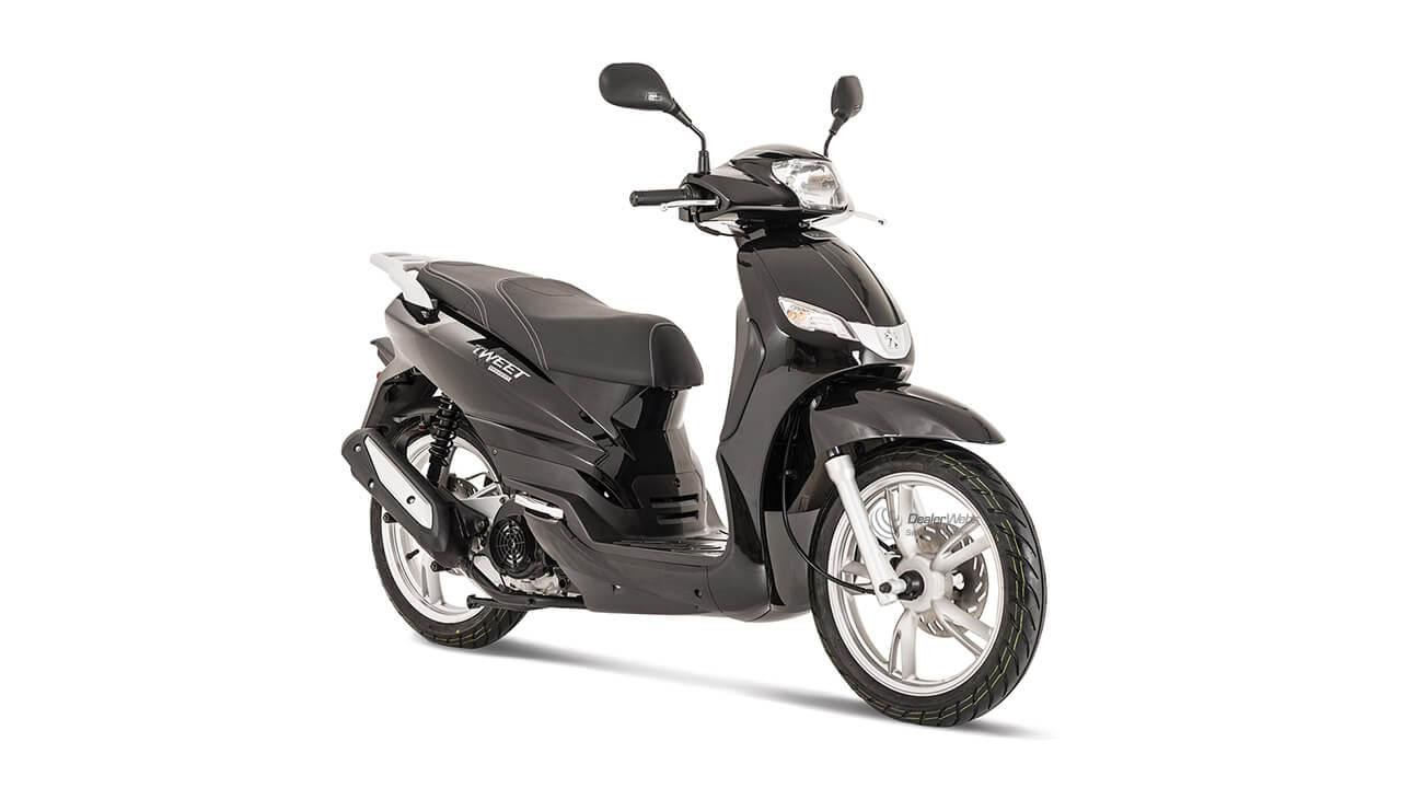 TWEET 50 PEUGEOT SCOOTERS MOTOCYCLES STRASBOURG IRON GREY