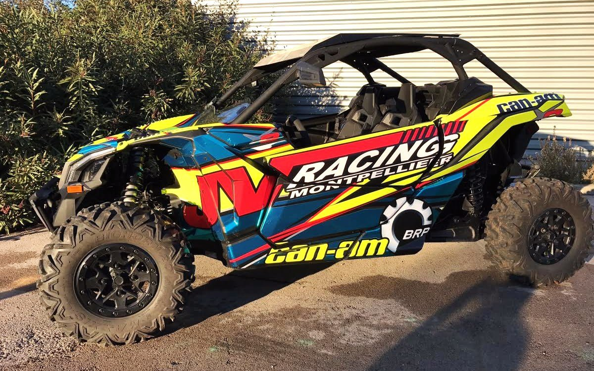 JVRACING BRP CAN-AM SEADOO MONTPELLIER maverick x3