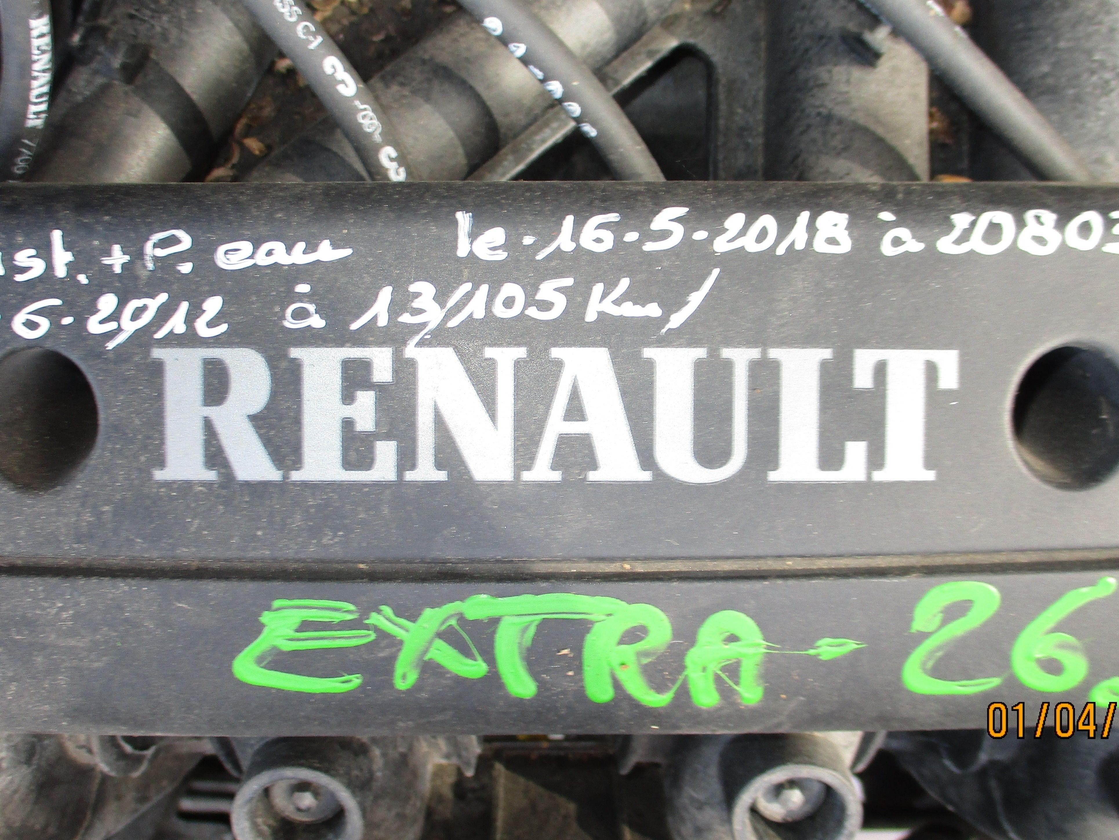 MOTEUR + BOITE AUTOMATIQUE TWINGO 1150 ESSENCE 60 CV DE 2002