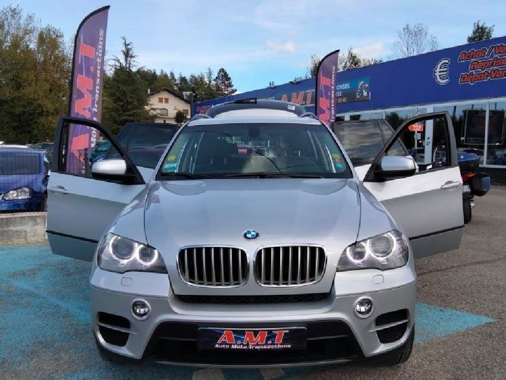 BMW X5 xDrive 40d 306ch Luxe A 7 Places