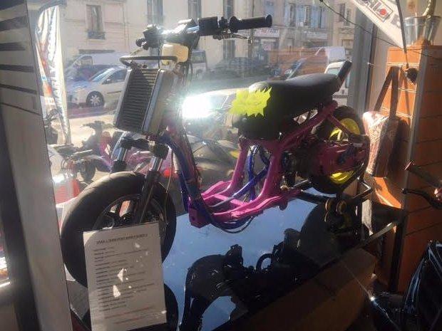 Préparation compétition scooter