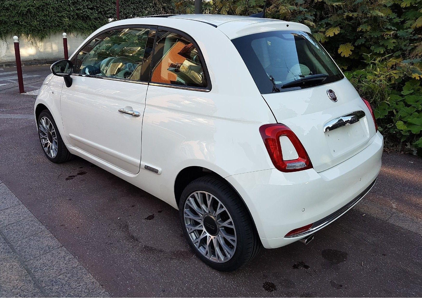 Mandataire auto Beauvais Picardie Fiat 500 Lounge 2