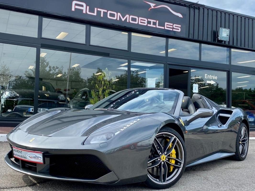 Ferrari 488 Spider v8 3.9 t 670 cv