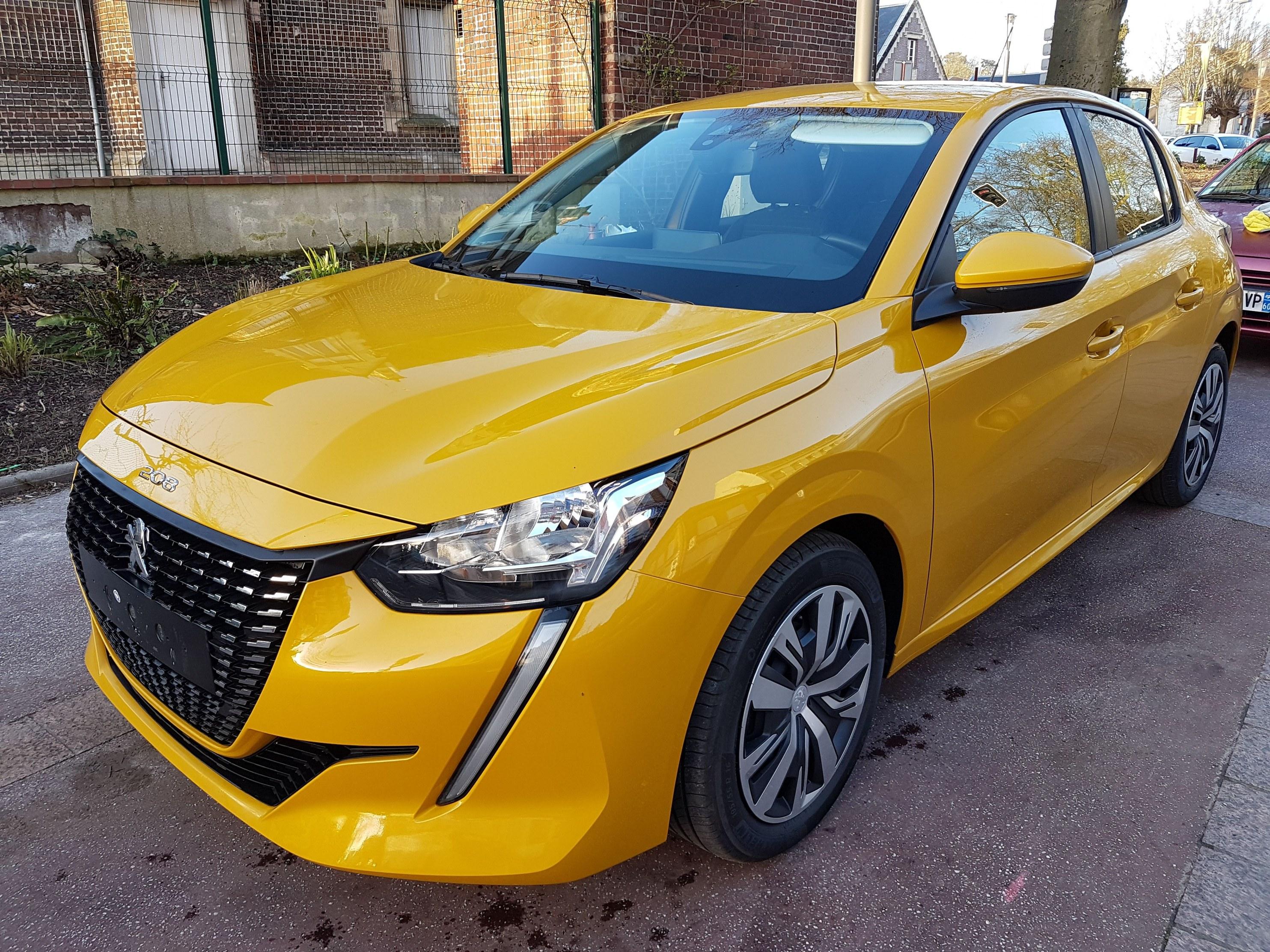 Mandataire auto Beauvais Picardie Peugeot 208 Active 1.2 Puretech 75cv-100cv