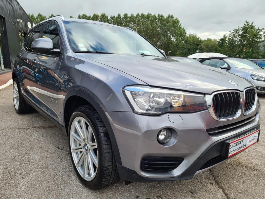 BMW X3 20DA XDRIVE 190 CV GPS BVA