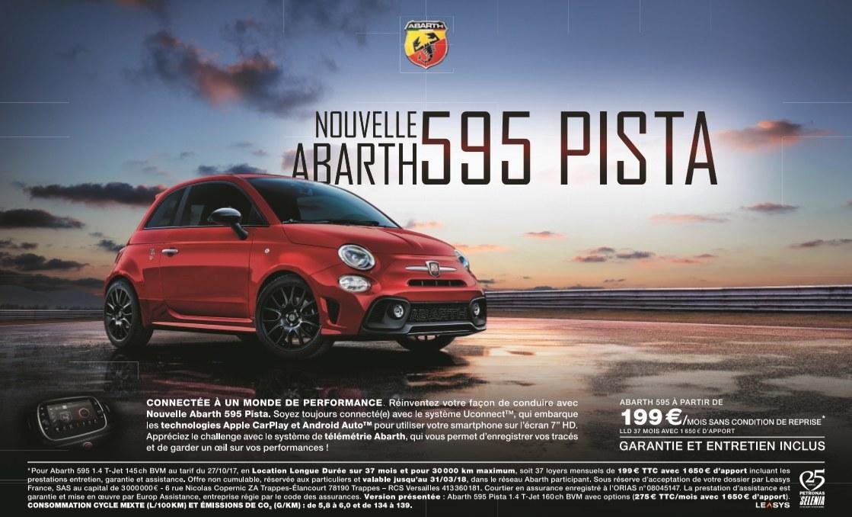 ABARTH 595 PISTA