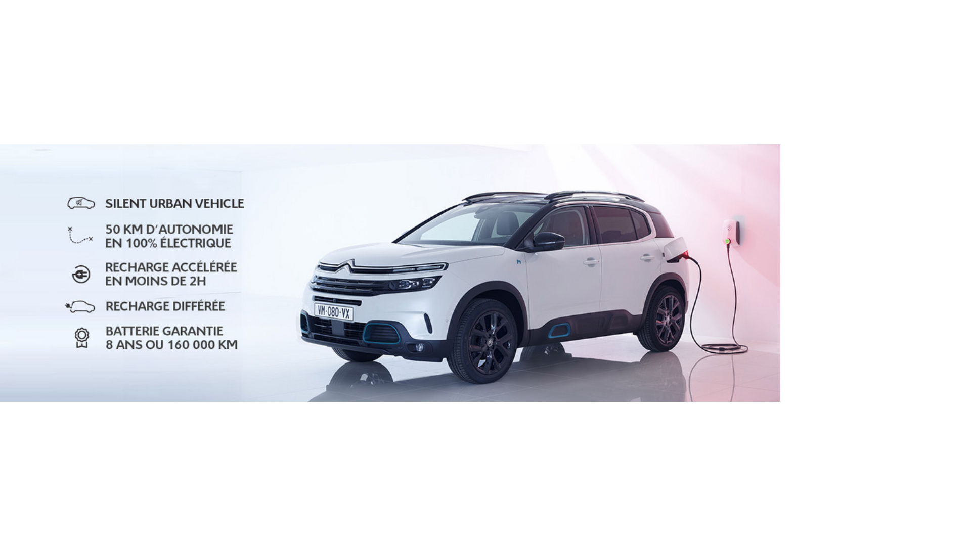 SUV C5 AIRCROSS HYBRID RECHARGEABLE