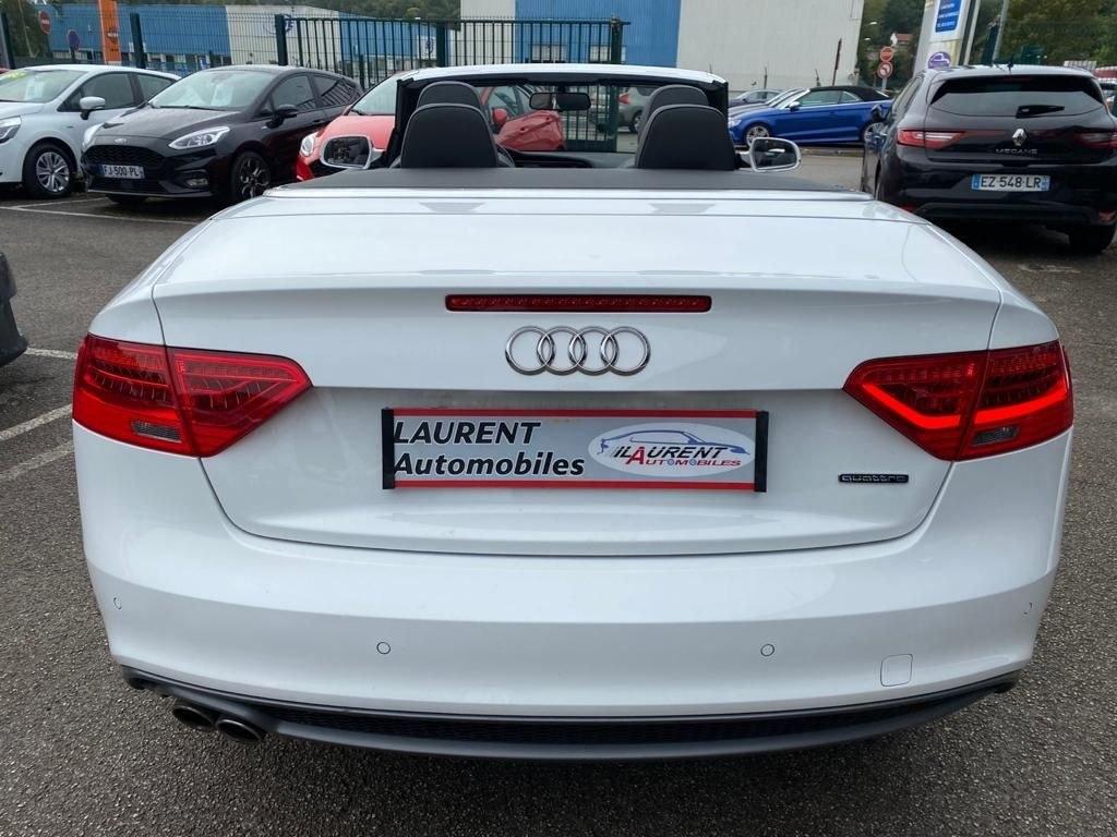 Audi A5 Cabriolet 2.0 TDI 190 CV QUATTRO GPS BLUETOOTH