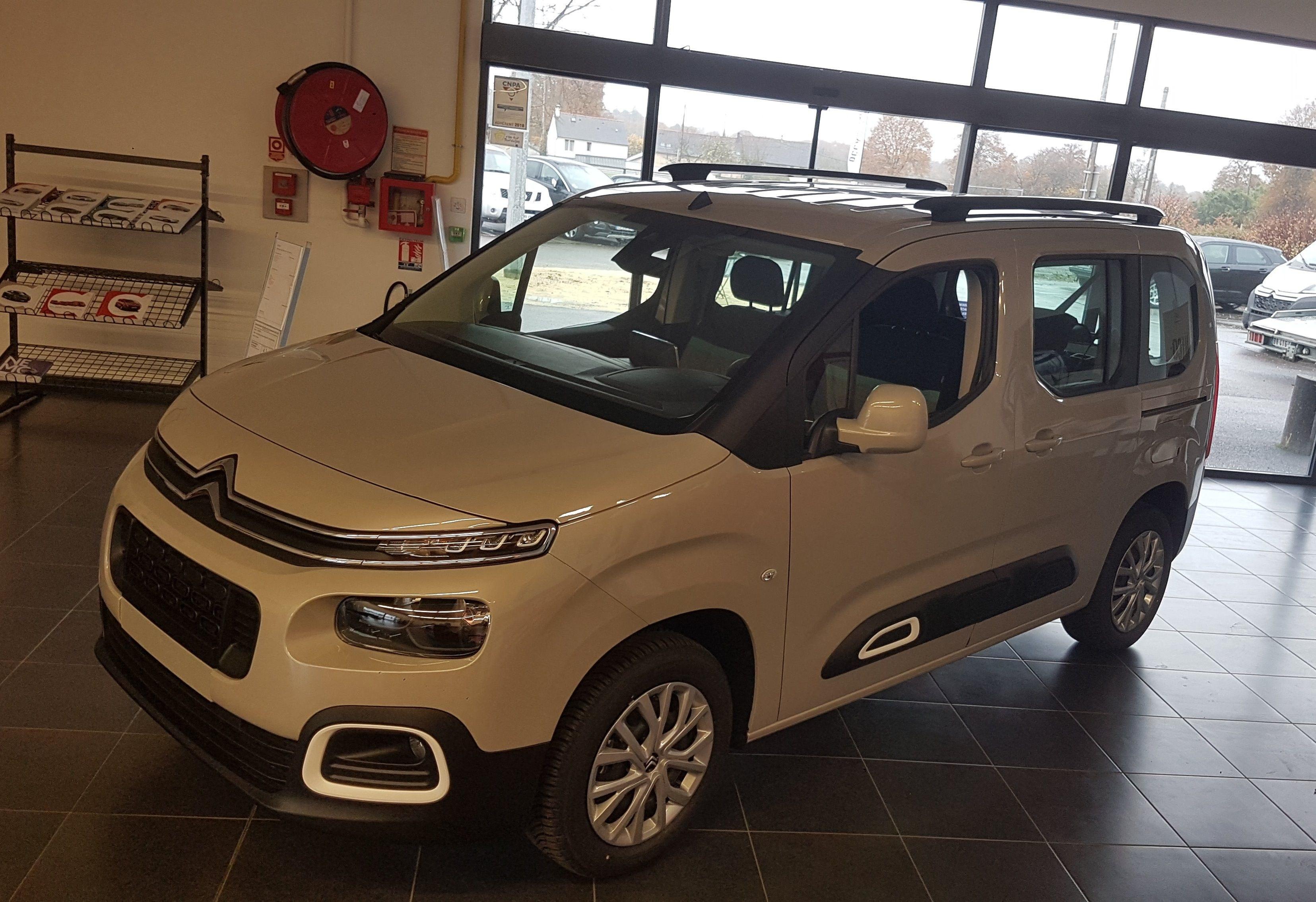 véhicule neuf - nouveau berlingo - citroën - mordelles
