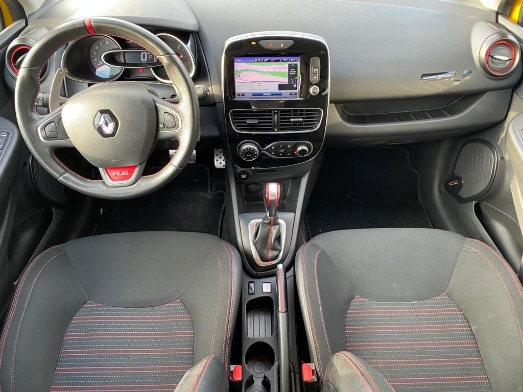 Renault Clio IV RS 200 CV BVA EDC MONITOR