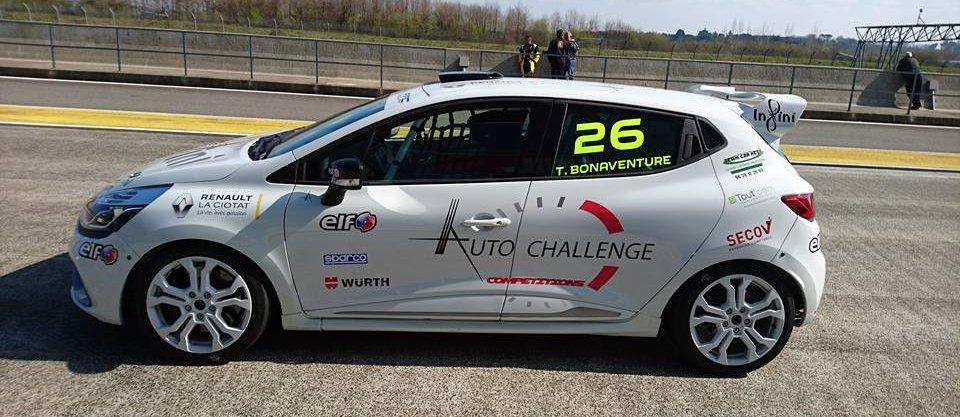 Renault la ciotat Auto Challenge Compéttion
