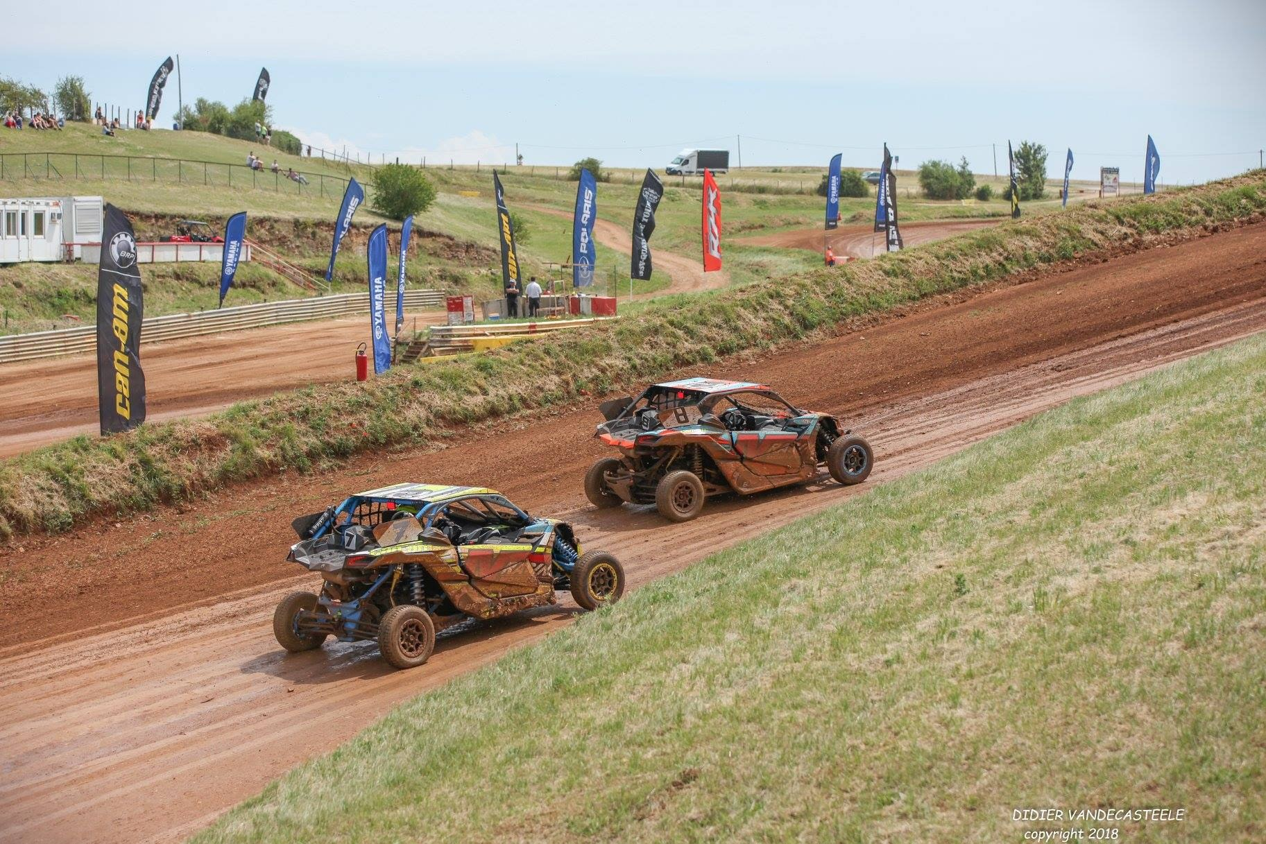 Souvenirs CAN-AM Dirt Tour Is-sur-Tille 24 juin 2018