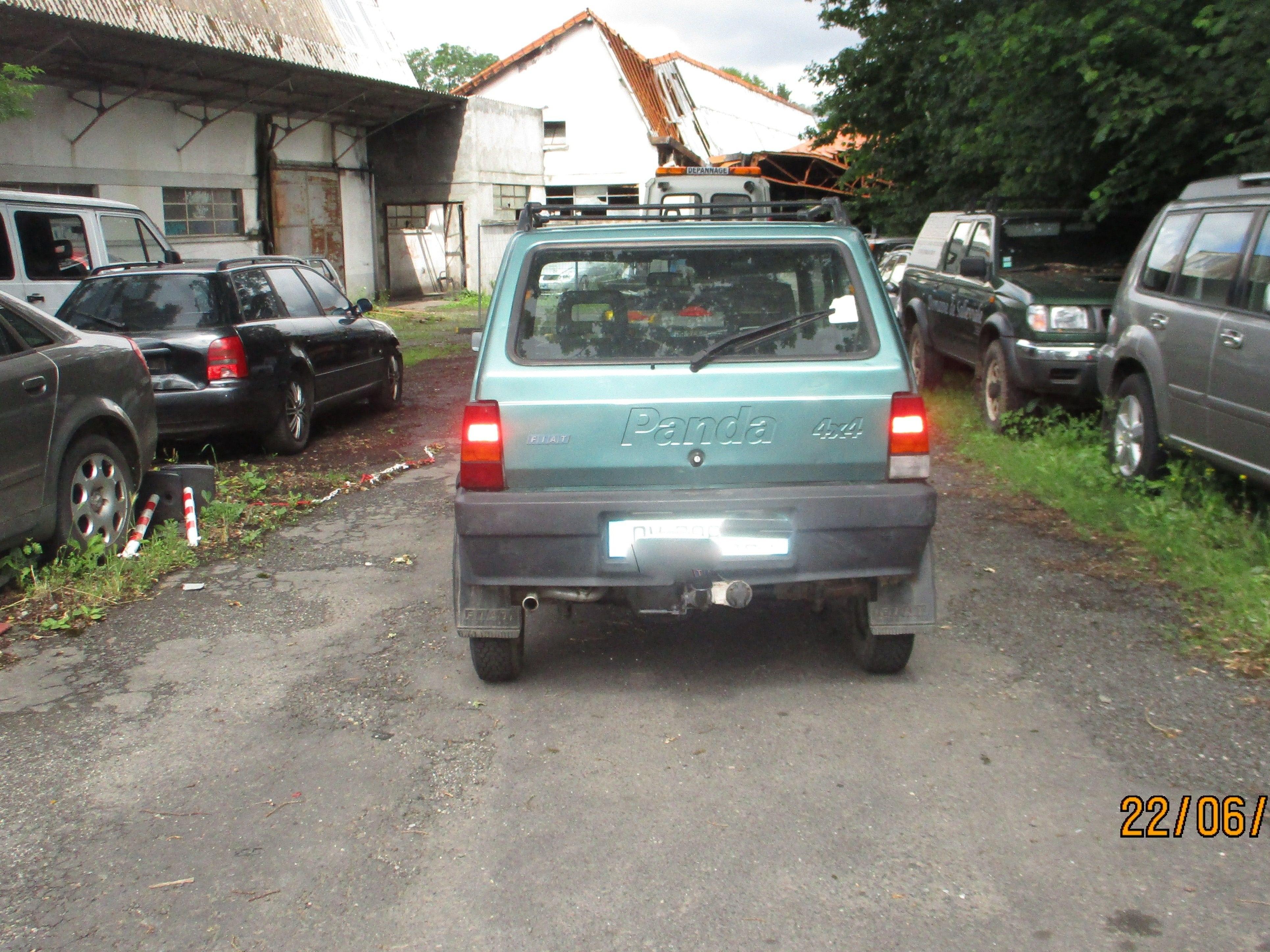 PANDA 4X4 1000 54 CV  COUNTRY CLUB