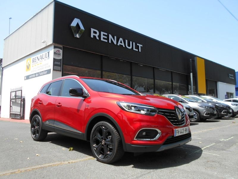 annonce renault kadjar tce 160 cv black edition angers. Black Bedroom Furniture Sets. Home Design Ideas
