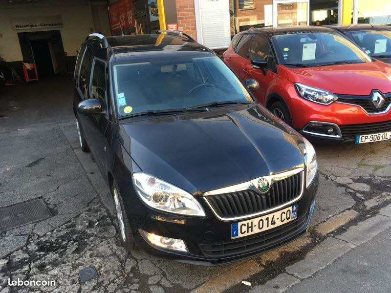 Occasion Skoda Roomster roncq 59223