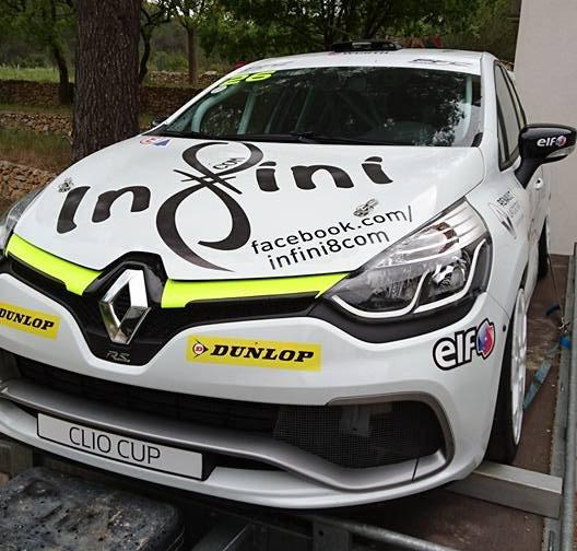 Auto Challenge Compétition Clio Cup Renault Sport La Ciotat