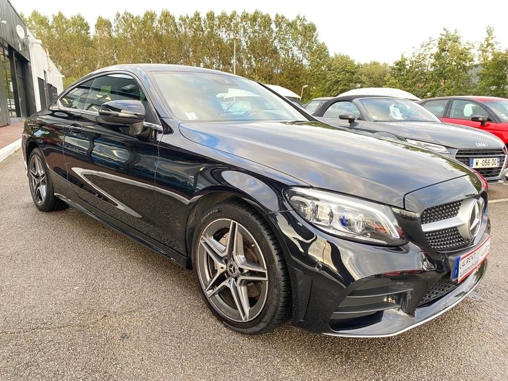 Mercedes C 200 CLASSE COUPE 200D 160 CV BVA GPS CAMERA
