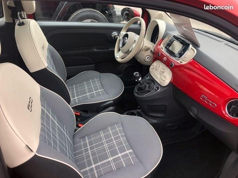 Fiat 500 toit pano / GPS