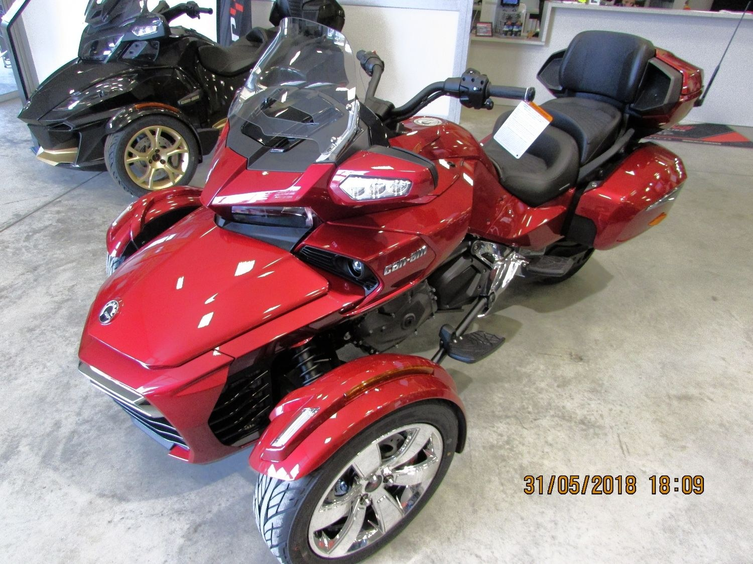 CAN AM SPYDER F3 LIMITED 2018