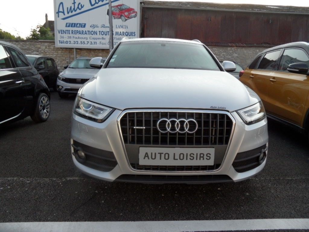Audi Q3 QUATTRO 20 TDI 177 S-LINE S-tronic 7