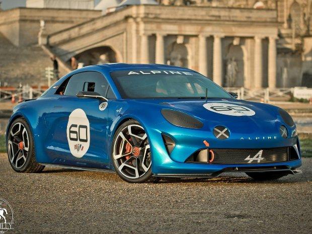 Auto Challenge Renault la Ciotat Nelson Panciatici Alpine