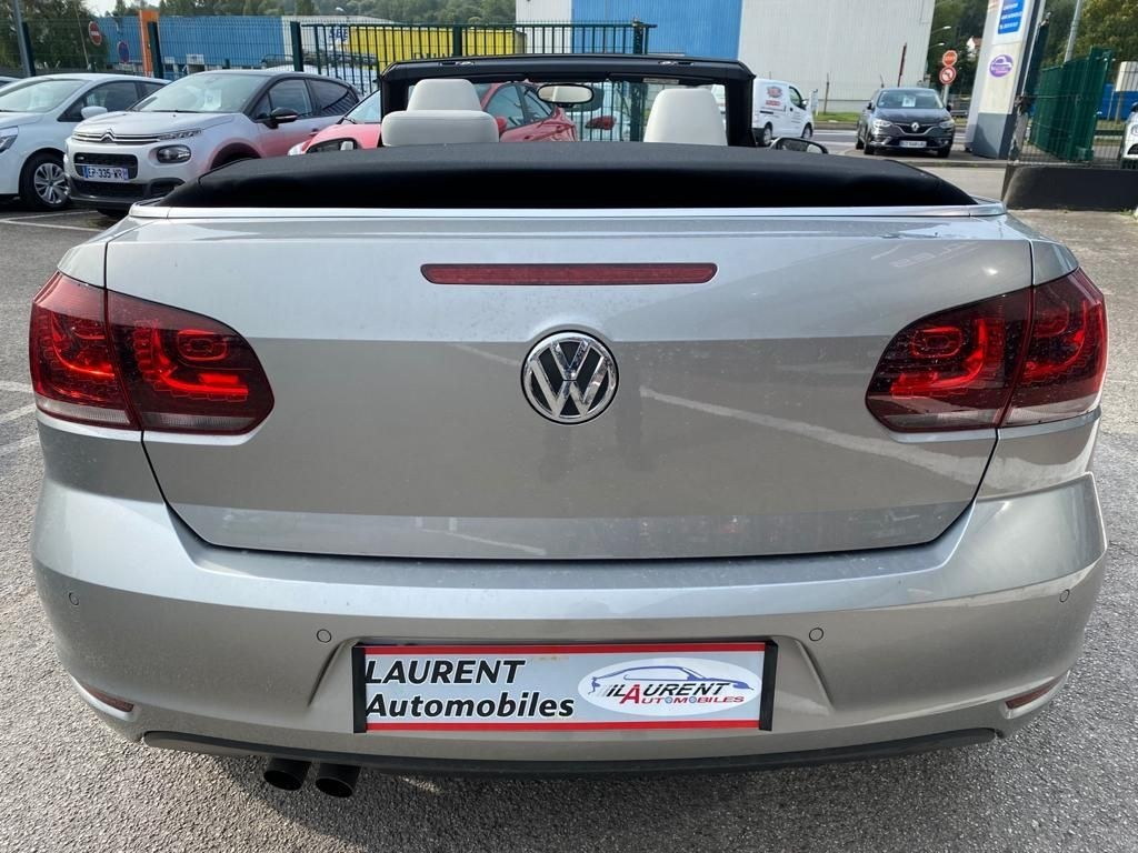 Volkswagen Golf Cabriolet VI 2.0 TDI 140 CV BVA