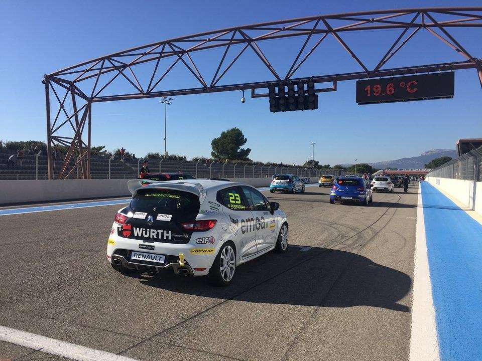 Auto Challenge renault la Ciotat Clio Cup emoa
