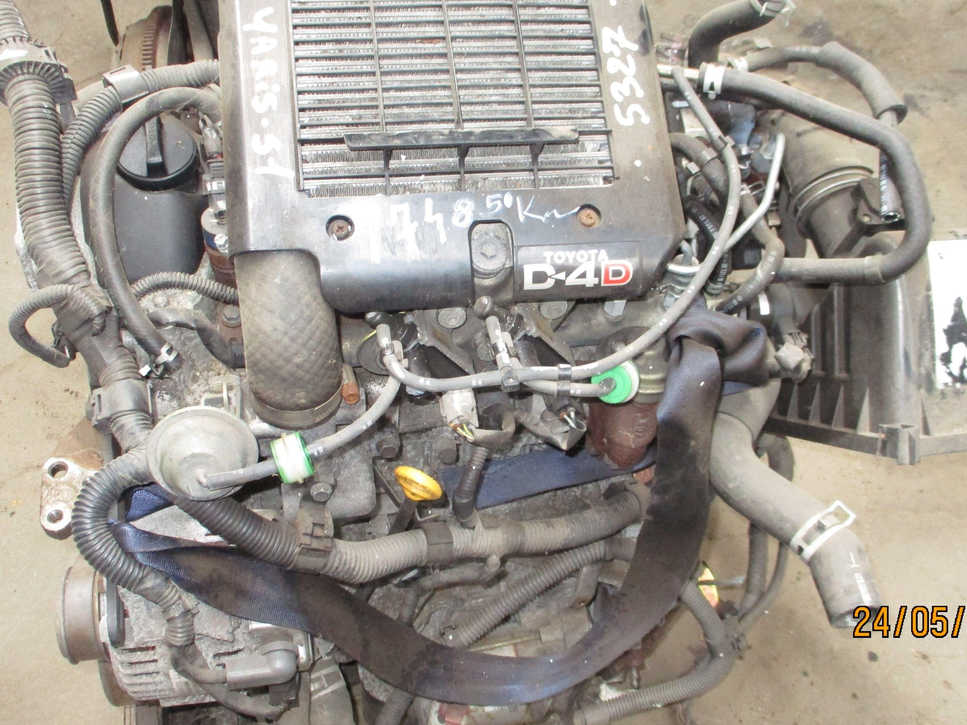 MOTEUR  YARIS 1400 D4D 75 CV