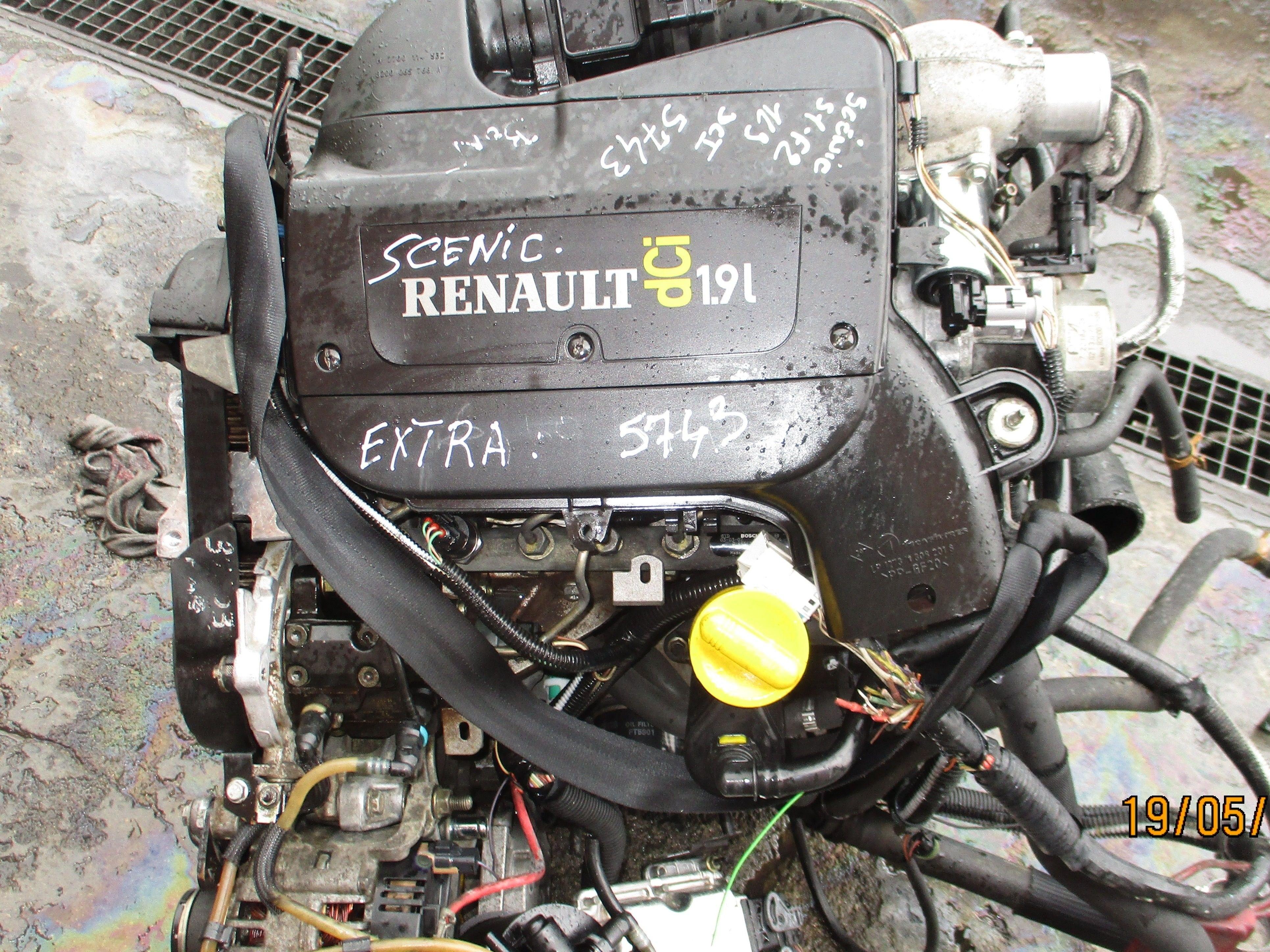 MOTEUR SENIC 1900 DCI 100 CV