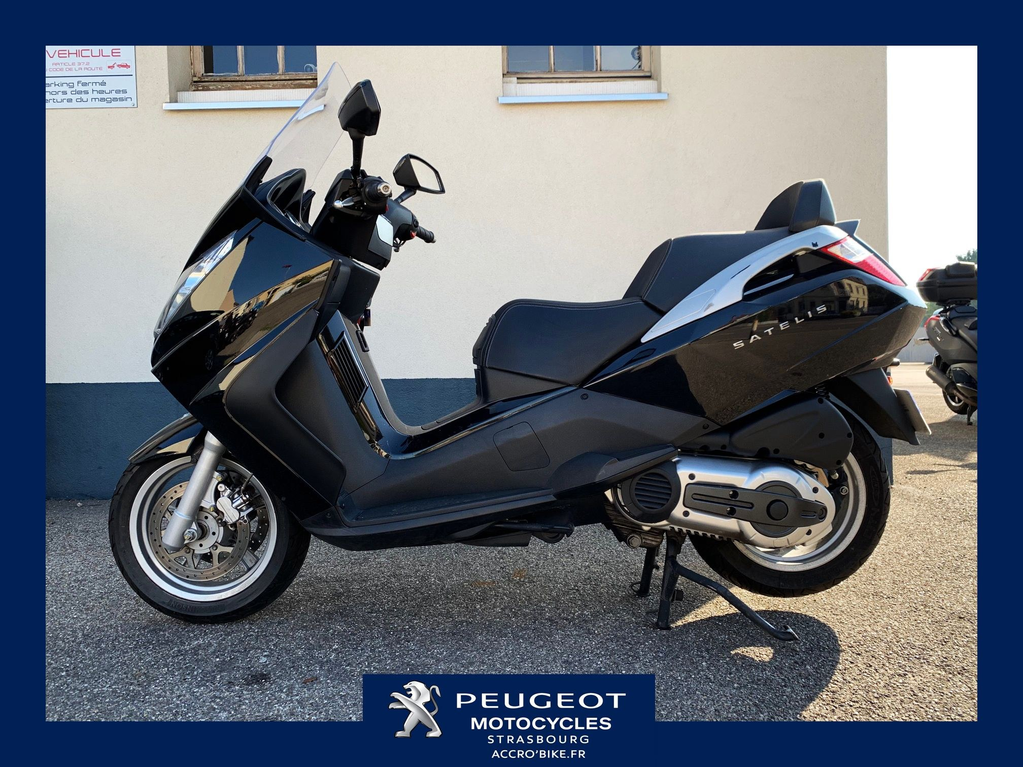 SATELIS SCOOTER OCCASION PEUGEOT