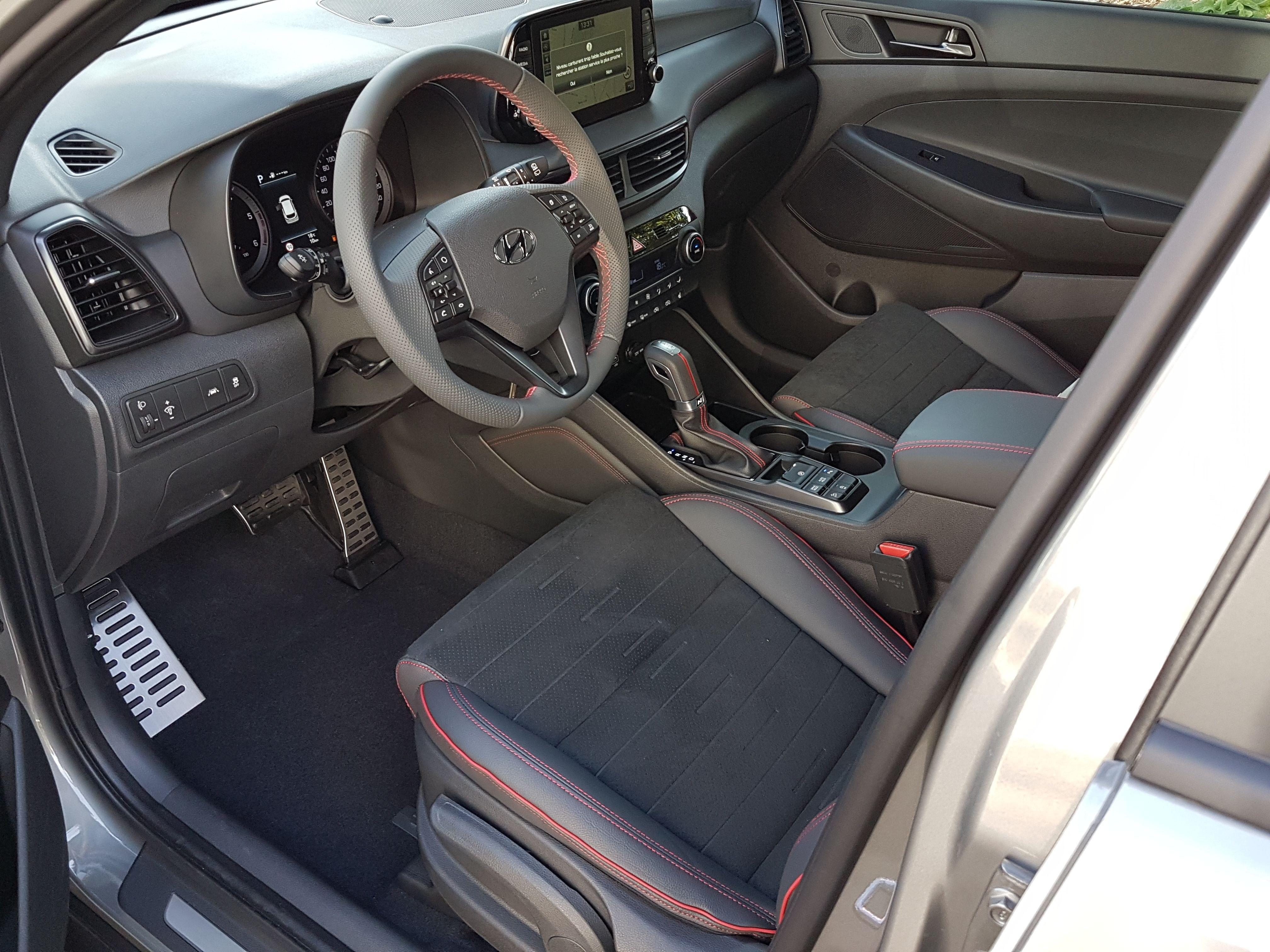 Mandataire auto Beauvais Haut De France Picardie Hyundai Tucson Nline 1.6 Crdi 136cv Dct
