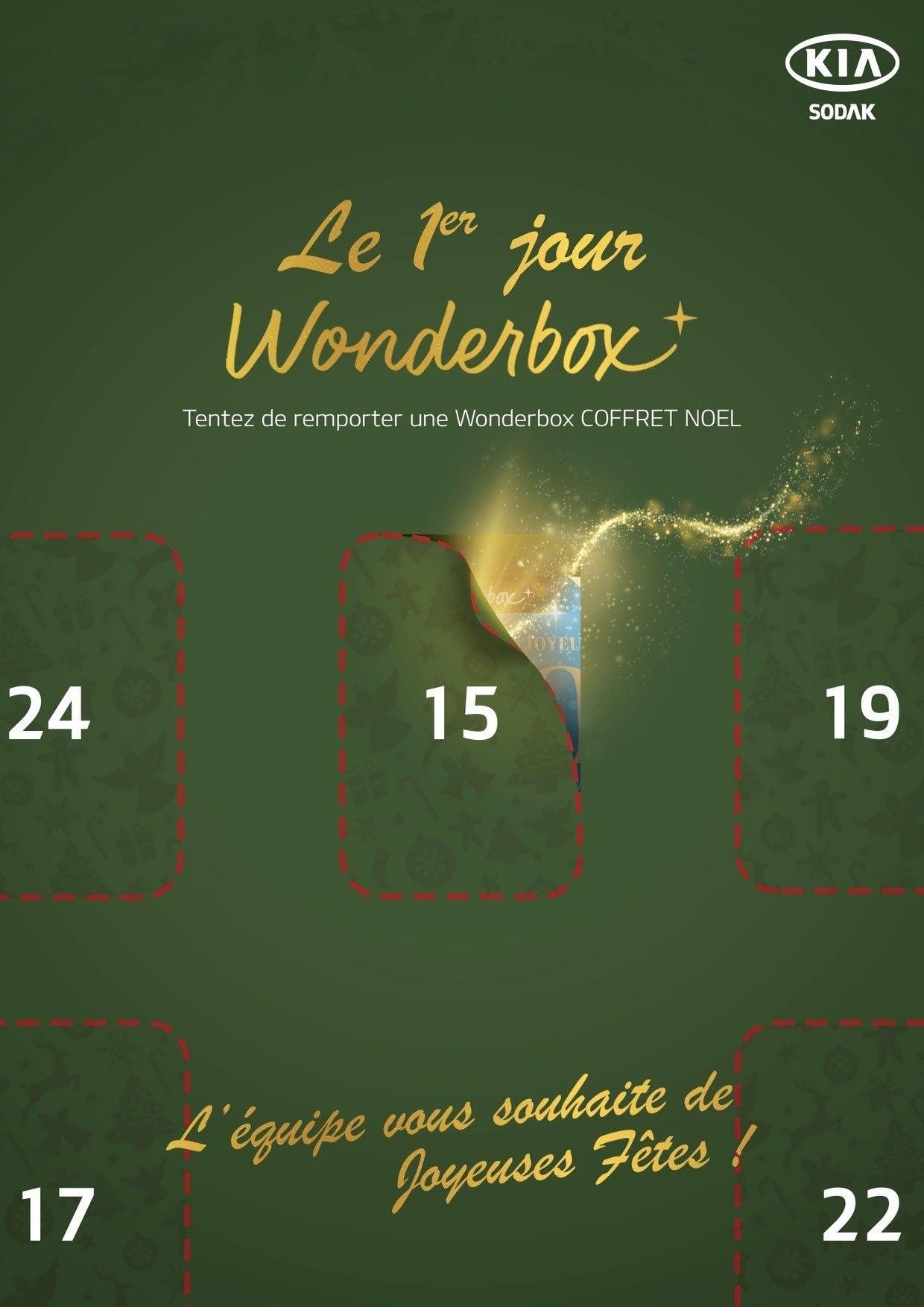 10 jours wonderbox