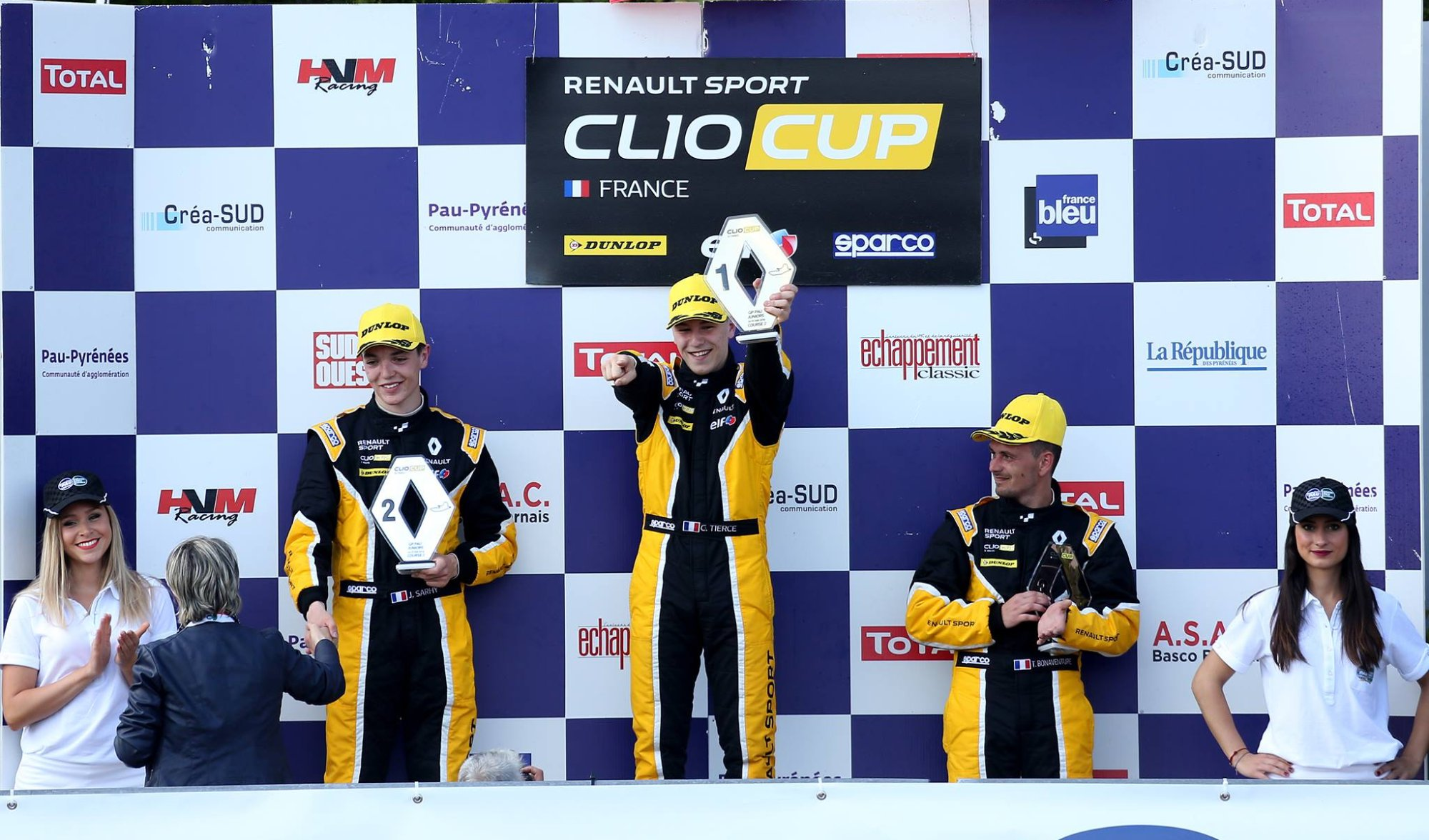 auto challenge competition pau clio cup 2016