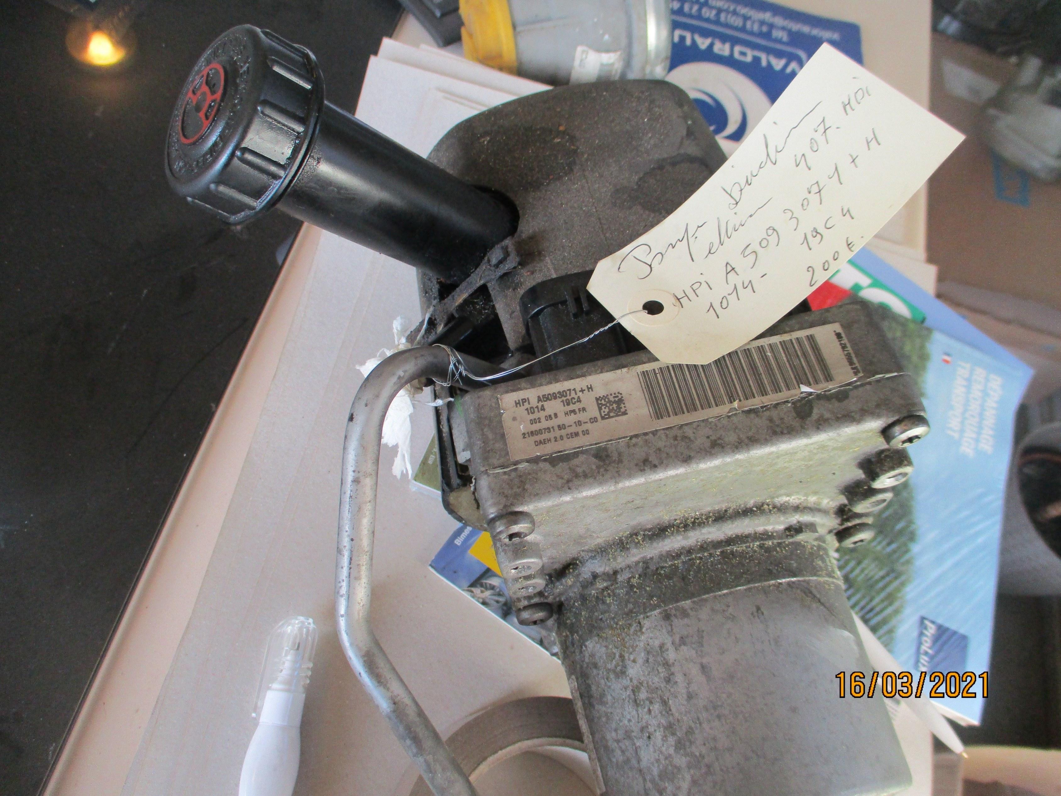 POMPE DIRECTION ELECTRIQUE 407 D'OCCASION
