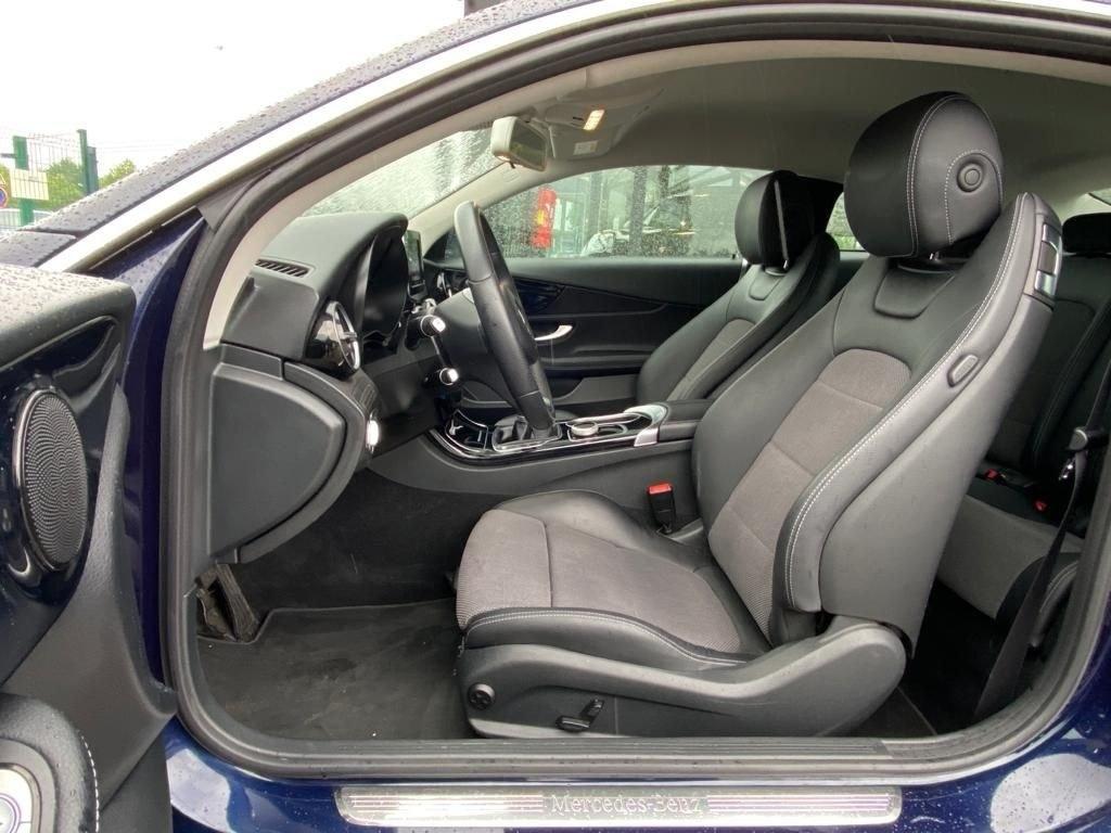 Mercedes C 220 COUPE C220 170CV BVM GPS BLUETOOTH