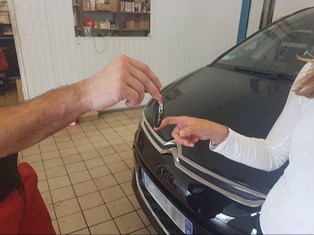 Réparation voiture