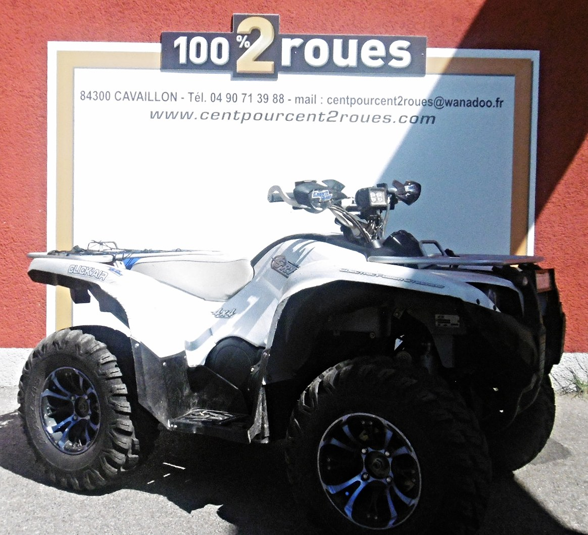 quad yamaha 700cc occasion vente grizzly