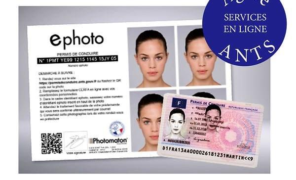 Photo numérique d'identité