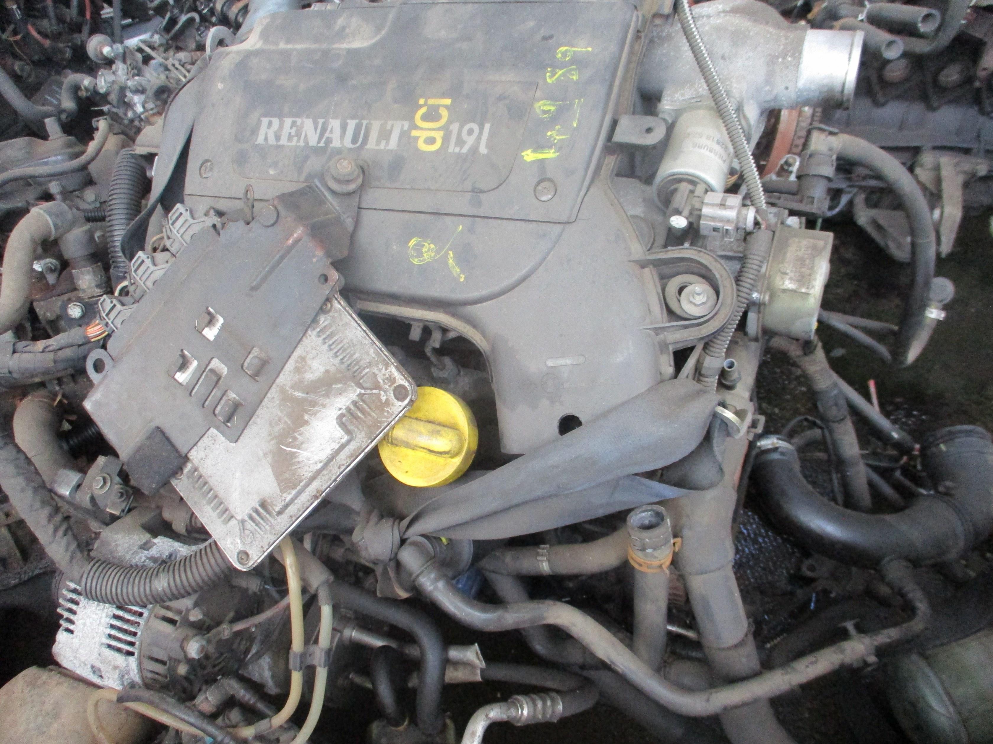 MOTEUR SENIC 1900 DCI 120 CV F9Q 732