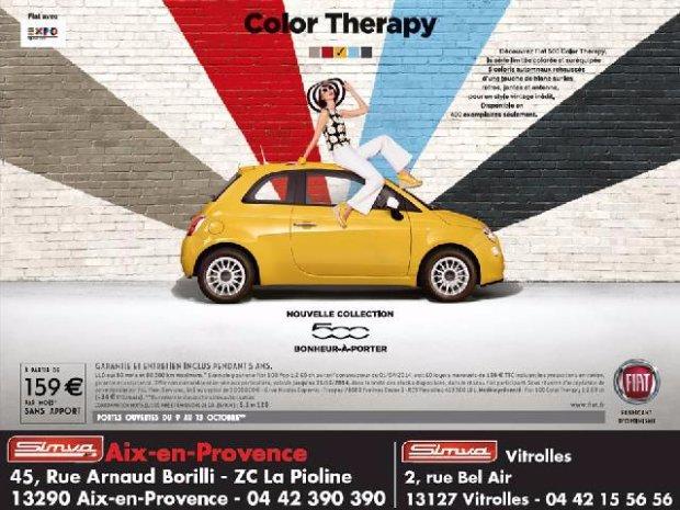 FIAT 500 Colour Thérapy