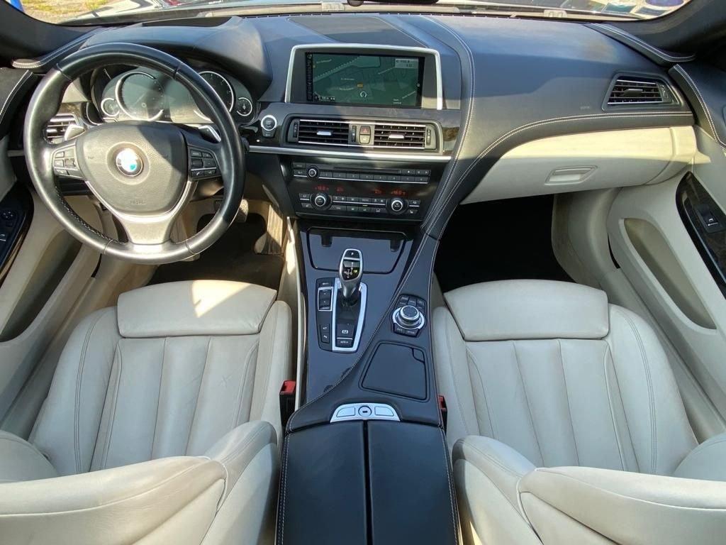 BMW 650 SERIE 6 COUPE 650IA 450 CV BVA CUIR CAMERA 360