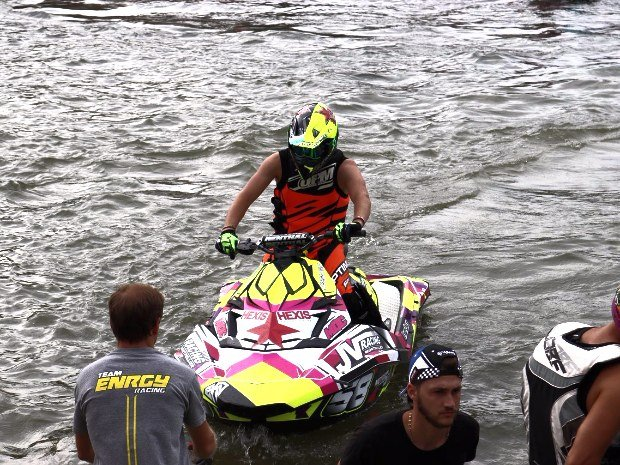 Champion de FRANCE sur SEA DOO SPARK