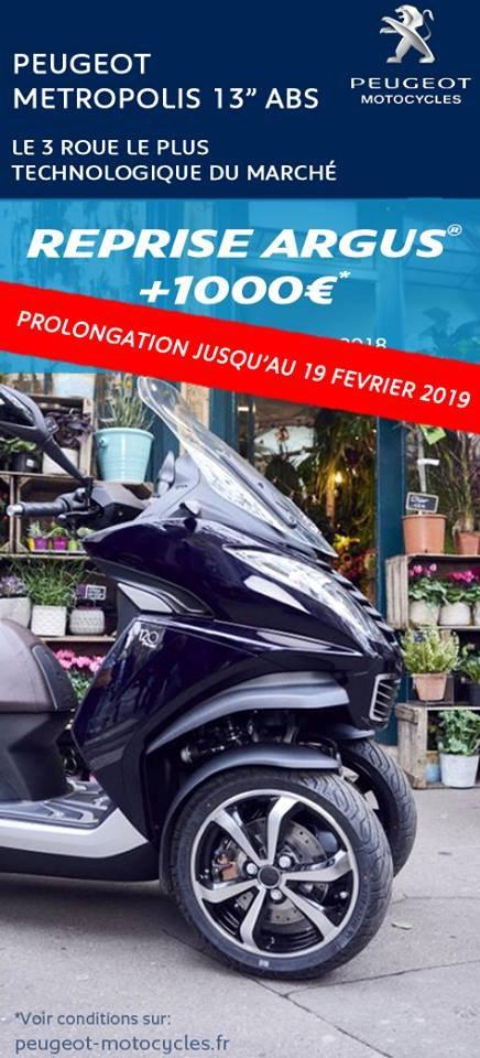 reprise argus metropolis peugeot scooter motocycles strasbourg