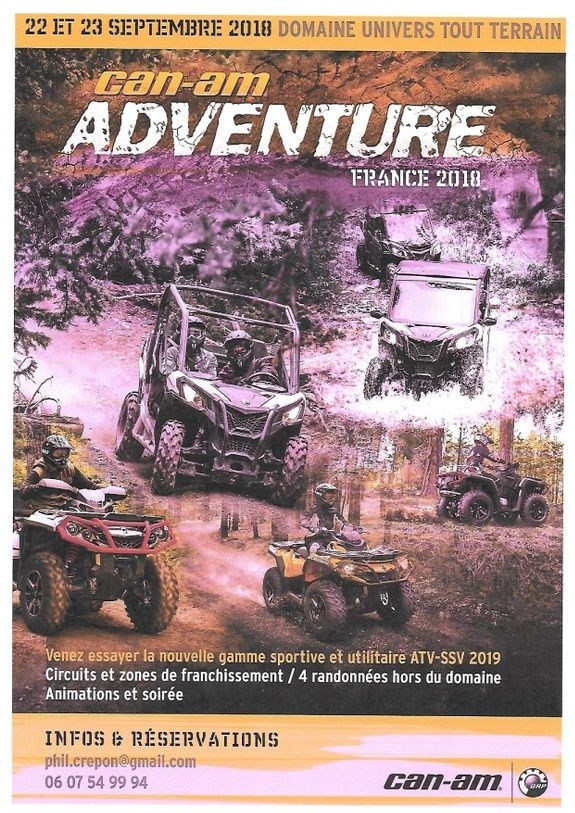 CAN AM ADVENTURE 2018