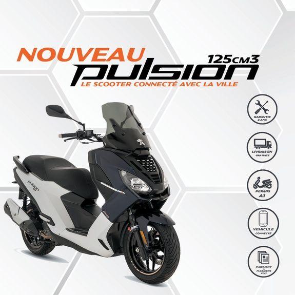 PEUGEOT MOTOCYCLES SCOOTERS PULSION 125 NOUVEAUTÉ 2019
